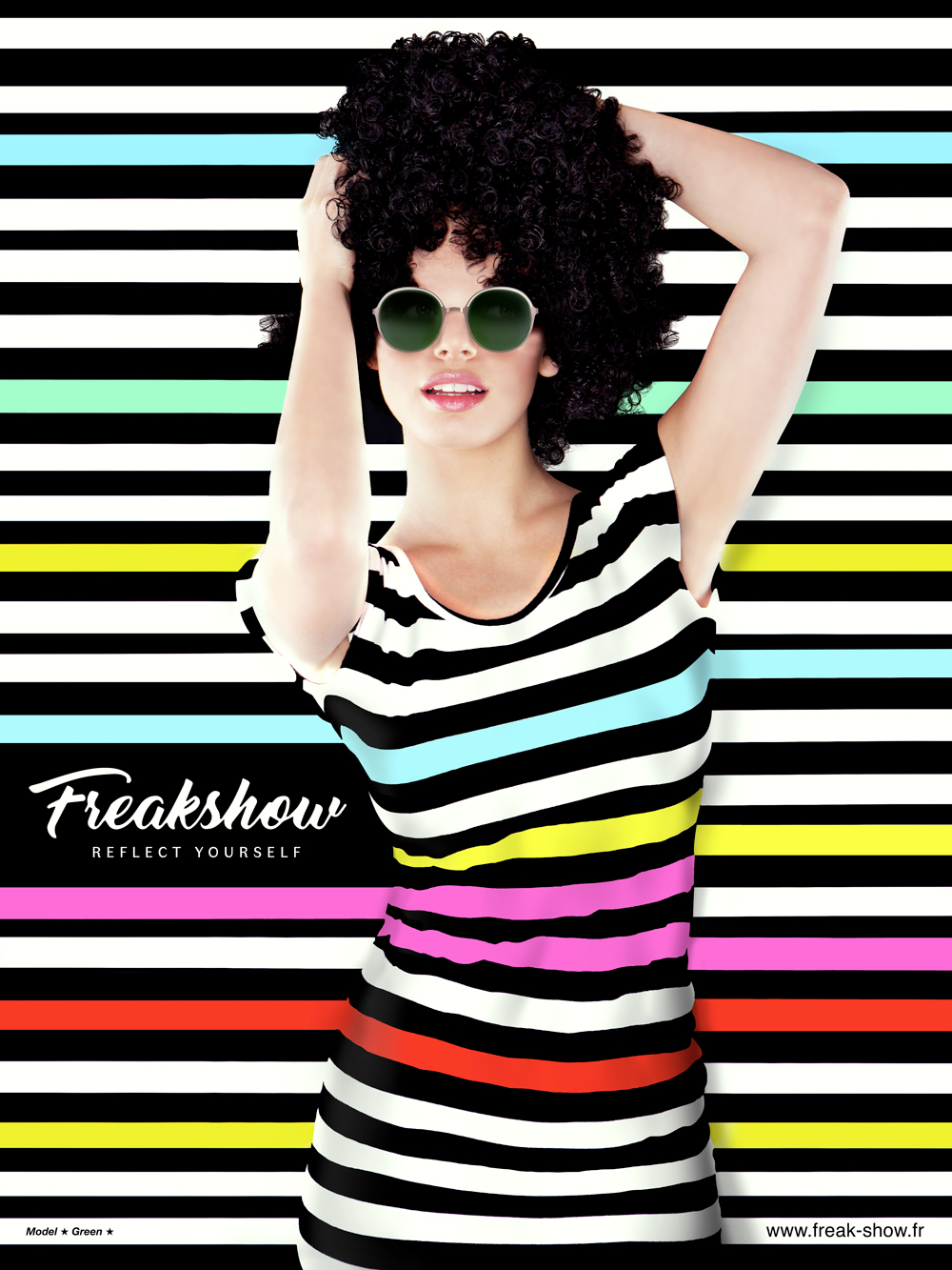 Communication Campaign / Freakshow Sunglasses